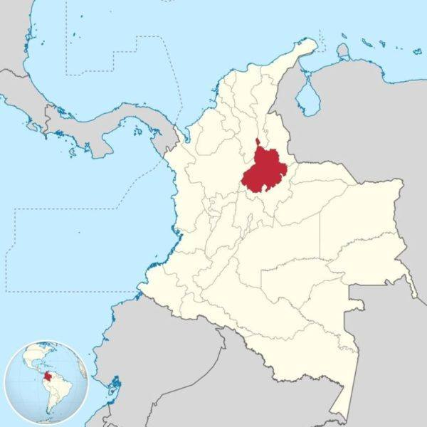 Morin-Colombia-Santander - map