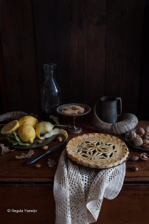 Pride and Pudding - prune-tart-pudding